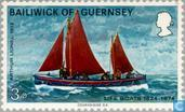 Postage Stamps - Guernsey - Rescue 1824-1974