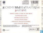 Disques vinyl et CD - Dire Straits - Alchemy - Dire Straits live - part one