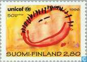 Postage Stamps - Finland - 50 years UNICEF