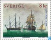 Postage Stamps - Sweden [SWE] - Sailing Ships