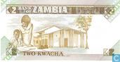 Billets de banque - Bank of Zambia - 2 Kwacha zambien