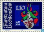 Postzegels - Liechtenstein - Heraldiek