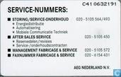 Phone cards - PTT Telecom - AEG Systeem service