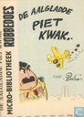 Comic Books - Aalgladde Piet Kwak, De - De aalgladde Piet Kwak