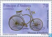 Postzegels - Andorra - Spaans - Fietsen