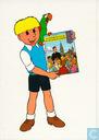 Strips - Edward Poppe - Het schone avontuur van een bakkersjongen