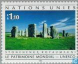 Postage Stamps - United Nations - Geneva - Cultural and environmental legacy