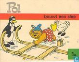 Strips - Pol, Pel en Pingo - Pol bouwt een slee