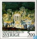 Postzegels - Zweden [SWE] - Culturele uitwisseling Frankrijk