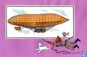 "Strips - Kuifjesbon producten - Chromo's ""Luchtschepen"" 20"