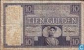 Pays-Bas 10 Gulden 1924