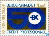 Postage Stamps - Belgium [BEL] - National Fund for Professional Credit