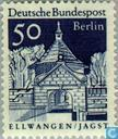 Postage Stamps - Berlin - German construction Large Format