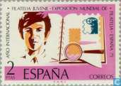Int. Exposition España Stamp '75