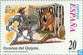 Postage Stamps - Spain [ESP] - Don Quixote