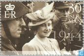 Postage Stamps - Man - Queen Mother-100th anniversary