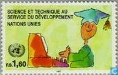 Postage Stamps - United Nations - Geneva - Development through science and technology
