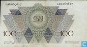 Banknotes - Paintings Nederland - 100 guilder Netherlands 1947