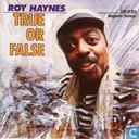 Disques vinyl et CD - Haynes, Roy - True or False