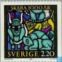 Postzegels - Zweden [SWE] - 1000 jaar stad Skara