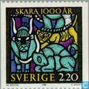Postage Stamps - Sweden [SWE] - 1000 years city Skara