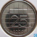 Coins - the Netherlands - Netherlands 25 cents 2000