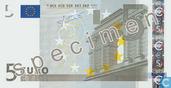 Eurozone 5 Euro (Specimen)