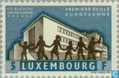 Postzegels - Luxemburg - Europese School