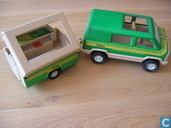 Tonka van and caravan