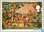 Postage Stamps - Guernsey - Hugo, Victor
