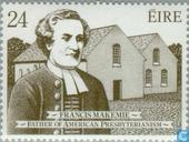 Postage Stamps - Ireland - Makemie, Francis