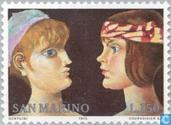 Postage Stamps - San Marino - International year of the woman
