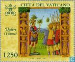 Postage Stamps - Vatican City - Medieval book illustrations