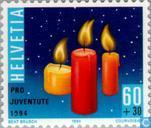 Timbres-poste - Suisse [CHE] - Bougies