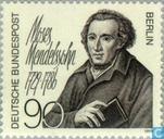 Postzegels - Berlijn - Mendelssohn, Moses 100 jaar