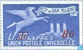 Timbres-poste - Saint-Marin - Espresso
