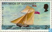 Timbres-poste - Guernesey - Mail Bateaux