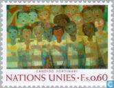 Postage Stamps - United Nations - Geneva - Arts