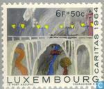 Postzegels - Luxemburg - Kindertekeningen