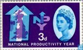 Briefmarken - Großbritannien [GBR] - Nationale Produktivität Jahr