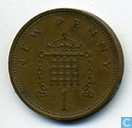 Coins - United Kingdom - United Kingdom 1 new penny 1975