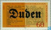 Postage Stamps - Germany, Federal Republic [DEU] - Duden dictionaries