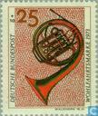 Postzegels - Duitsland, Bondsrepubliek [DEU] - Muziekinstrumenten