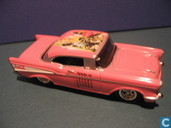 Modelauto's  - Johnny Lightning - Chevrolet Bel Air 'Coca-Cola'
