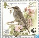 Briefmarken - Man - WWF-Vogel der Isle Of man