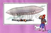 "Comic Books - Kuifjesbon producten - Chromo's ""Luchtschepen"" 35"