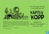 """Eine vollständige Übersicht zu den Abenteuern von Käpten Kopp, abgedruckt im """"Bremer Weserkurier"""" von 1961 bis 1970"""