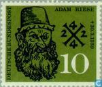 Postage Stamps - Germany, Federal Republic [DEU] - Riese, Adam 1492-1559