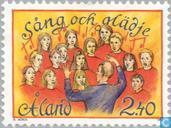Postage Stamps - Åland Islands [ALA] - Finnish-Swedish music festival