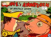Comic Books - Duppie's avonturen - De brutale bever